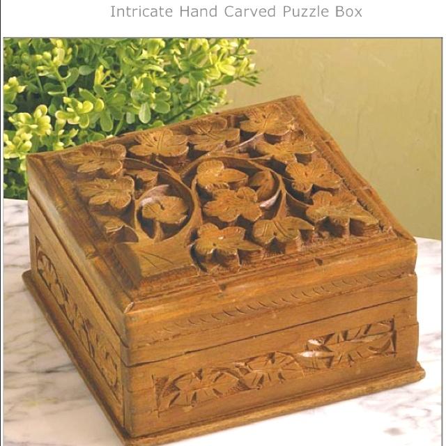 Puzzle Box Products I Love Stuff I Want Custom Wooden