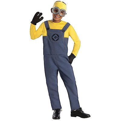 Despicable-Me-2-Minion-Dave-Kids-Costume-Boys-Party-Outfit-Licensed-S-M