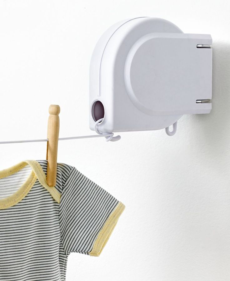 Whitmor Clothesline, Retractable - I would love a retractable clothes line for our backyard. It doesn't have to be this one, but one that is retractable that we can mount outside.