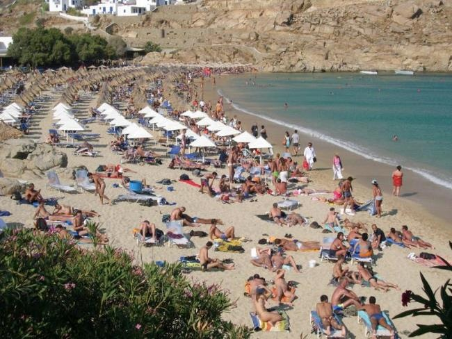 Best Island Beaches For Partying Mykonos St Barts: Mykonos - Super Paradise Beach!!!