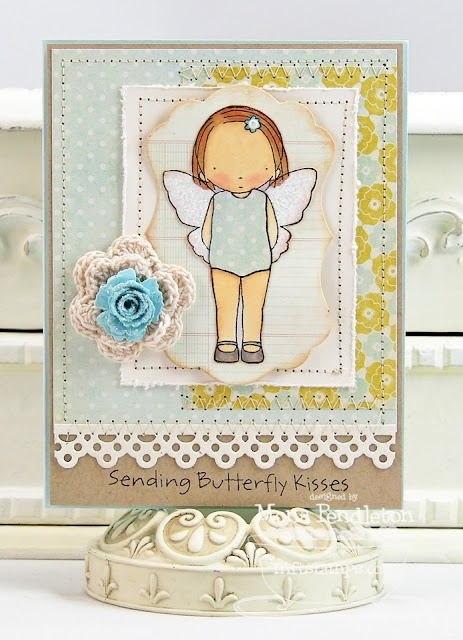 PI Butterfly Kisses - Mona PendletonButterflies Kisses Mftwsc8644, Cards Ideas, Mft Cards, Innocent Cards, Stamps Sets, Mft Puree, Puree Innocent, Butterflies Kissesmftwsc8644, Crafty Ideas