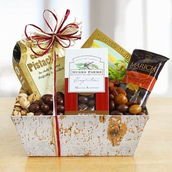 Gourmet Nut Gift Basket. See more gifts at www.pro-gift-baskets.com!