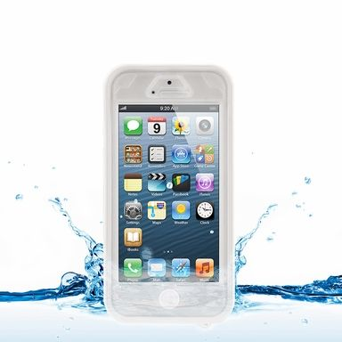 Naztech Vault Waterproof Case for iPhone 5 White #SecPro #SecurityProUSA #Security #Pro #USA #Tactical #Military #Law #Promo #Deal #DailyDeals #MGS #MilitaryGearSale #Gear #Sale #EBAY #Ecommerce #Amazon #Hypercel #Naztech #Mobile #Tech #Technology #Music #Techno #Electronic #Audio #iPad #iPadCase #Case #Charger #Powerbank
