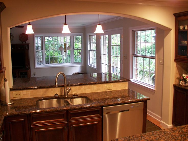 beautiful Remodel Kitchen Ideas For The Small Kitchen #7: remodeling kitchen before and after | Winston Salem Kitchen Remodeling,  Kitchen Backsplashes | Century Homes