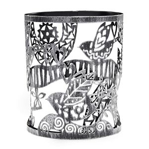 Folk Bird Scentsy Warmer Wrap An artistic flight of fancy captured in one perfect (and perfectly crafted) moment.