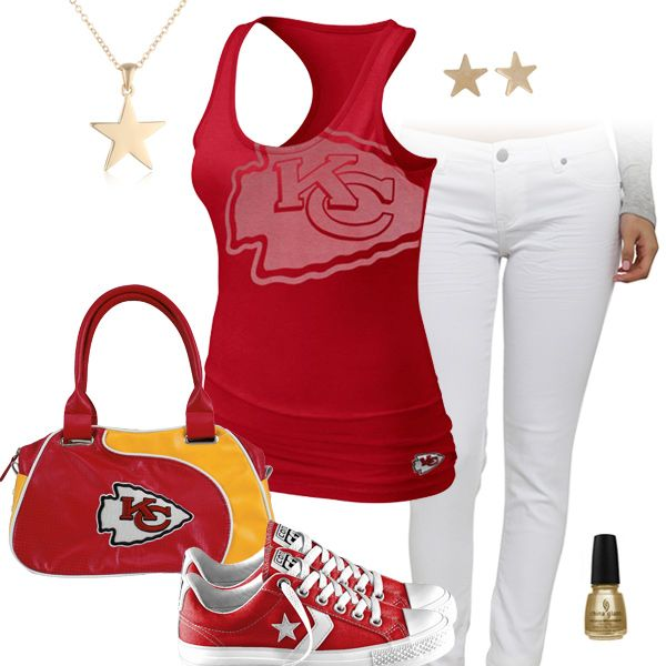 Kansas City Chiefs All Star Outfit