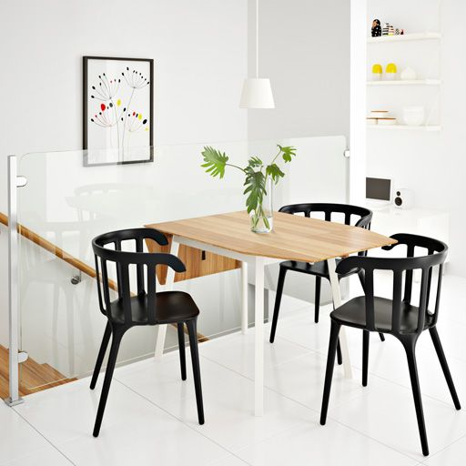 126 best images about ikea drop leaf table on pinterest tables folding chairs and grey - Round drop leaf table ikea ...