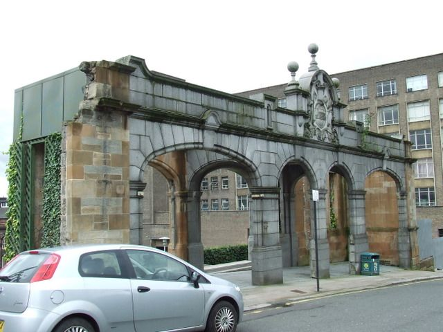"""The """"rottenrow"""" maternity hospital in Glasgow, Was the oldest maternity hospital in Scotland. Both my children were born here."""