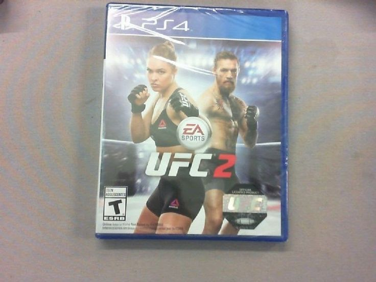 EA Sports UFC 2 - Sony PlayStation 4 - PS4 - Brand New and Sealed