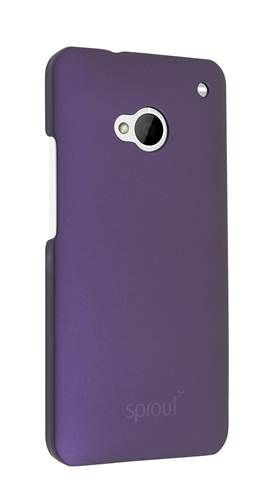 Sprout Rubber Coated Case. Price: $29.99. Suitable for the HTC One, this case has a unique dual rubber coating which gives an extra layer of sheen ensuring your phone looks great at all times. #sprout #case #cover #htc #htcone #rubbercase