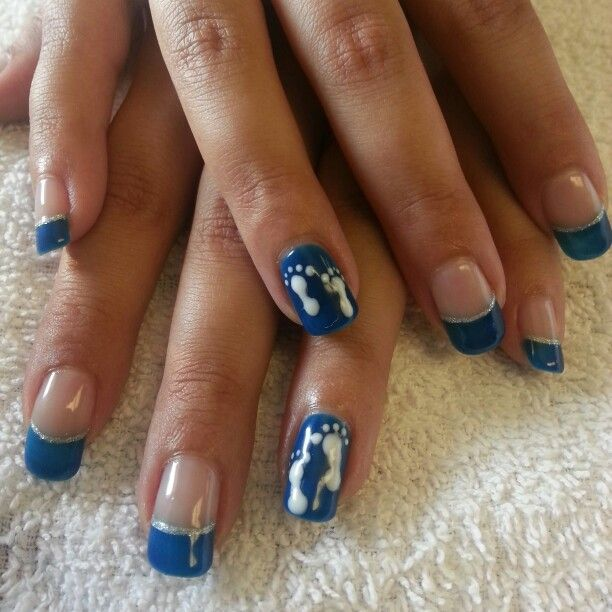 Baby Shower Nails!