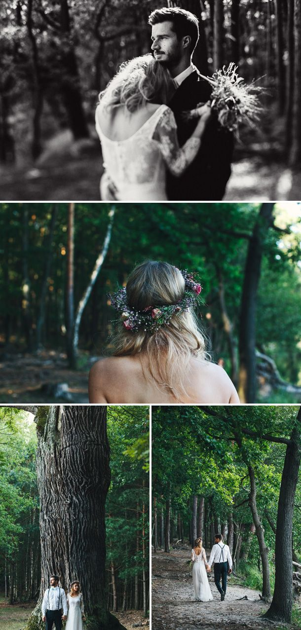 Die Atmosphäre im Wald gefällt mir sehr!