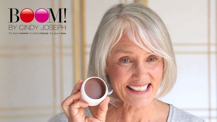 5 Makeup Tips For Older Womenby 64 Year Old Makeup Artist Turned Super Model Cindy Joseph! Cindy Joseph's makeup tips for Boomers 1. Use cream-based, not powde