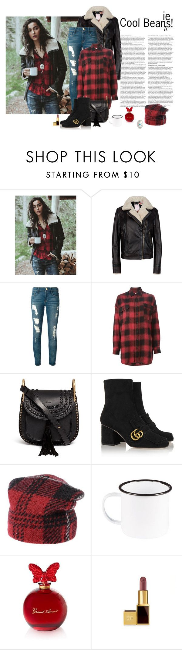 """""""Cool Beanies!"""" by katiethomas-2 ❤ liked on Polyvore featuring Ted Baker, Frame Denim, R13, Chloé, Gucci, ASOS, M Missoni, Argento Vivo, women's clothing and women's fashion"""