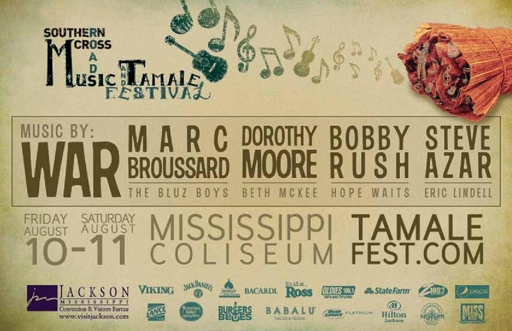 Too Much For One BITE! Mississippi's Epic Indoor Music & Culinary Event, August 10 & 11 in the Mississippi Coliseum!