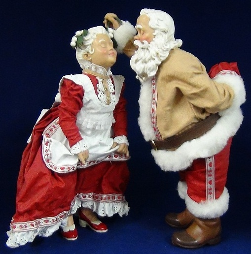 Best mr and mrs santa claus images on pinterest