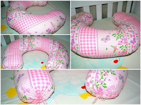 Veja como fazer uma linda almofada para amamentação! - YouTube