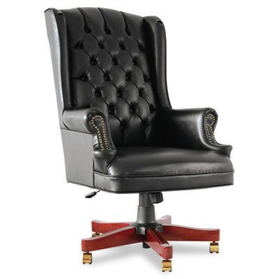 Pin it :-) Follow us :-)) AzOfficechairs.com is your Officechair Gallery ;) CLICK IMAGE TWICE for Pricing and Info :) SEE A LARGER SELECTION of  high back  office chair at  http://azofficechairs.com/?s=high+back+office+chair -  office, office chair, home office chair -Traditional Series High-Back Wing Back Swivel / Tilt Office Chair « AZofficechairs.com