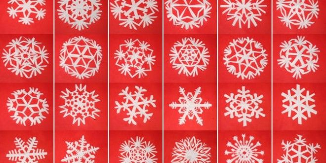 DIY Paper Snowflakes!! I want to try making some of these!! { #diypapersnowflakes #funsnowflakecraft } Tutorial fiocchi di neve di carta