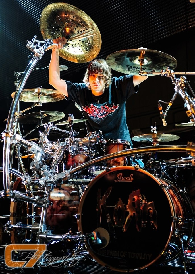 He is so cute. I love him! Perfect drummer for Korn!