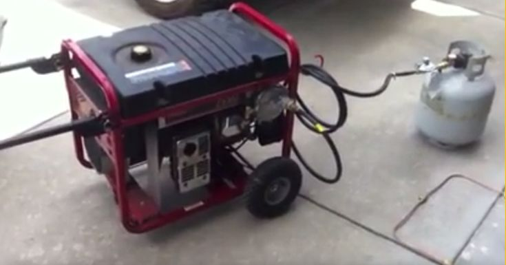 The Tri Fuel generator gives you options, gasoline, propane, or natural gas. FREE 1000+ DIY Projects Handbook  If a