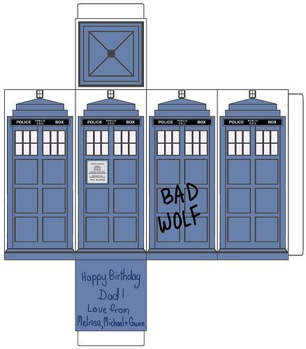 Tardis paper template dr who pinterest paper for Tardis template for cake