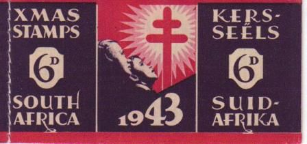 UNION SA 1943 6D CHRISTMAS BOOKLET COMPLETE