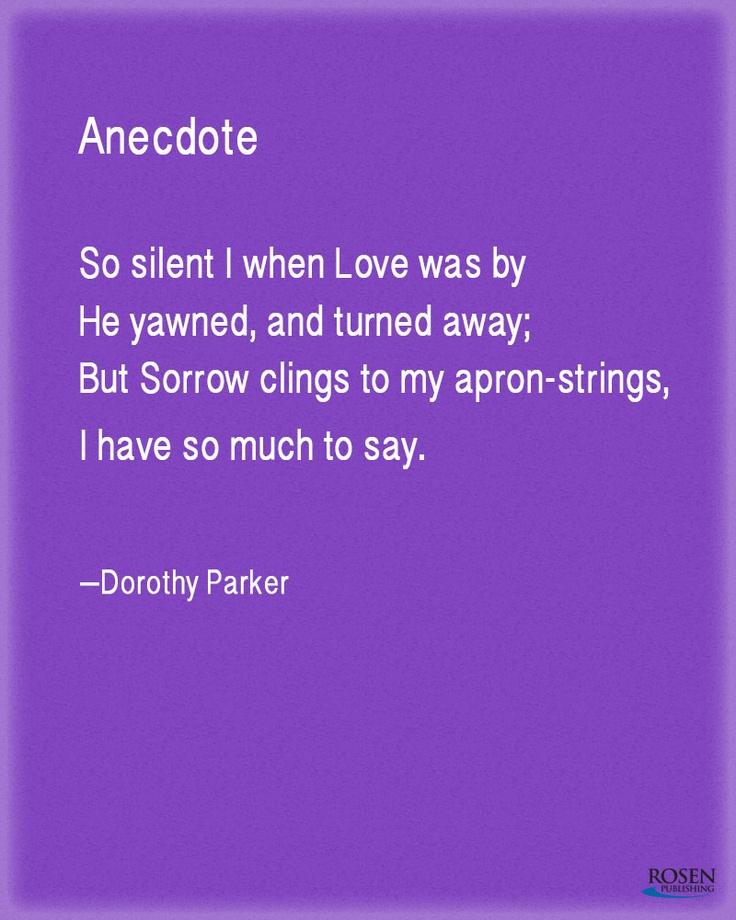 31 best {dorothy parker} images on Pinterest Dorothy parker - resume by dorothy parker