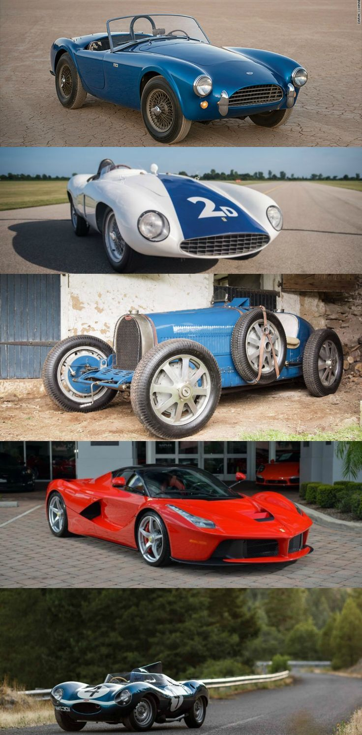 Luxury Lifestyle : 5 Awesome Cars Sold at the Monterey Auctions – lifestyle
