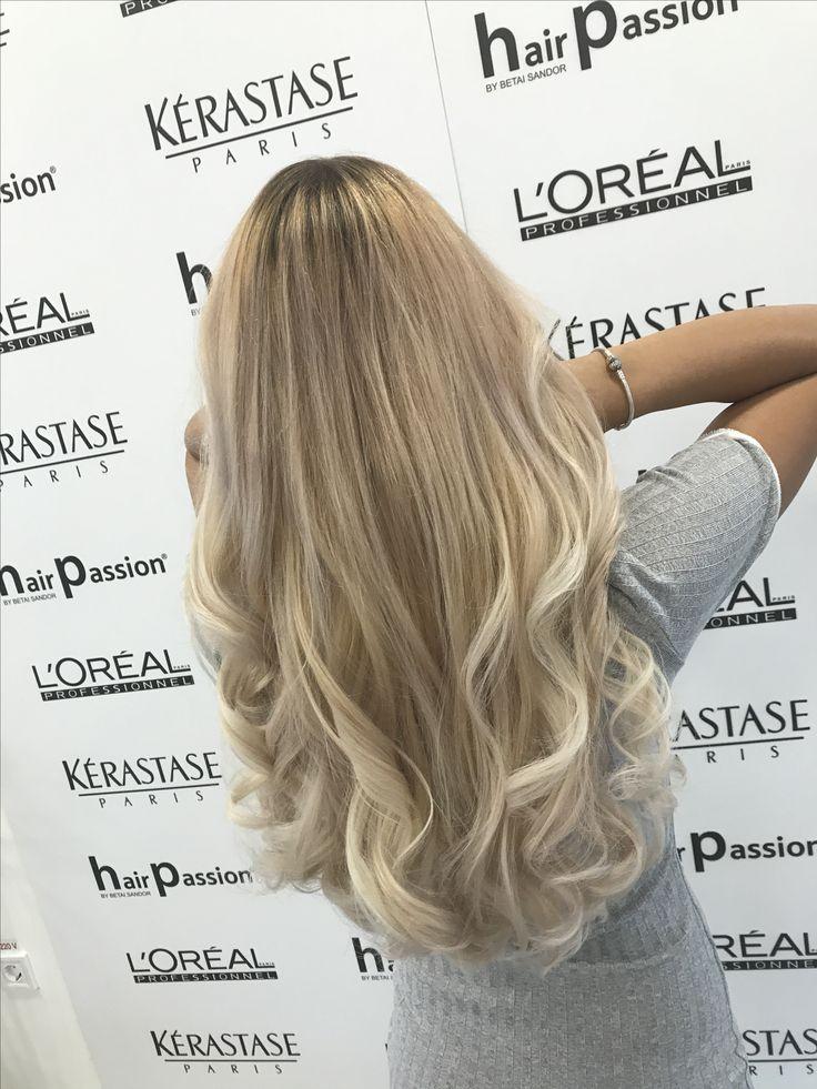 #blonde #haircolorgoals #ervindemeter #lorealpro