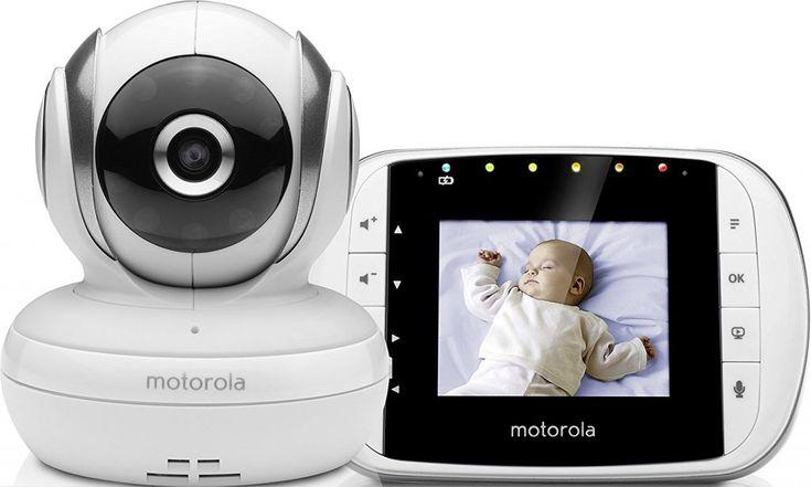 Vigilabebés con cámara Motorola MBP33 y MBP33S