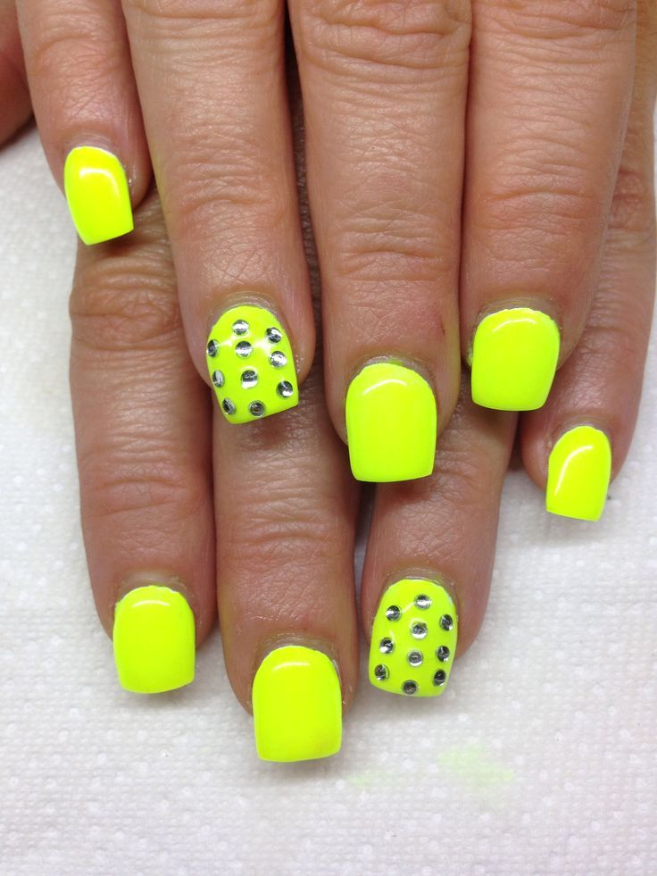 bright gel nails tips - Google Search