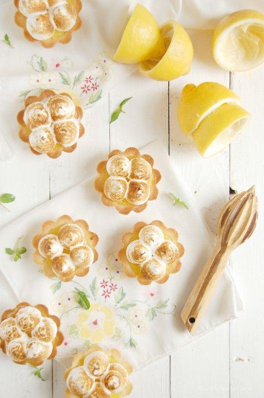 #lemon #meringue #shortbread tartlets