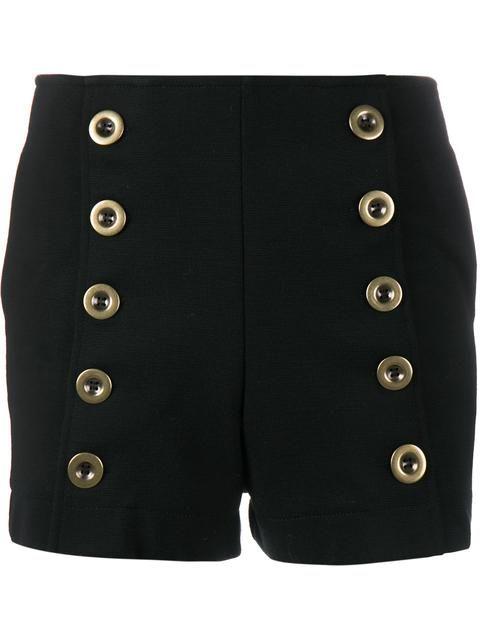 Shop Chloé military shorts.