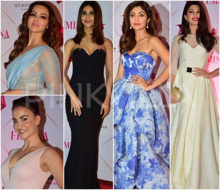 shilpa shetty,Shamita Shetty,adah sharma,Shriya Saran,Jacqueline Fernandez,Sophie Choudry,vaani kapoor,Best Dressed,Pooja Hegde,Sana Khaan,Elli AvrRam