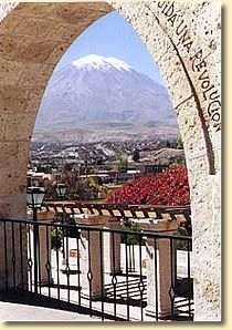 """Misti, Arequipa, Peru; Molly and Michael visit this very spot in """"Molly Goes to Peru"""" www.mollyandthemagicsuitcase.com"""