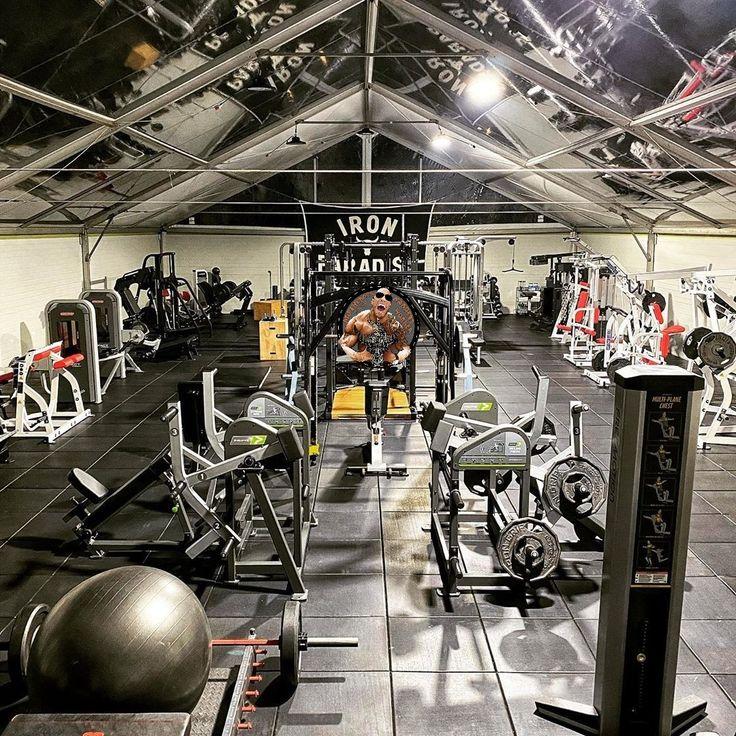 Iron Paradise Dream Home Gym Home Gym Garage Gym Interior