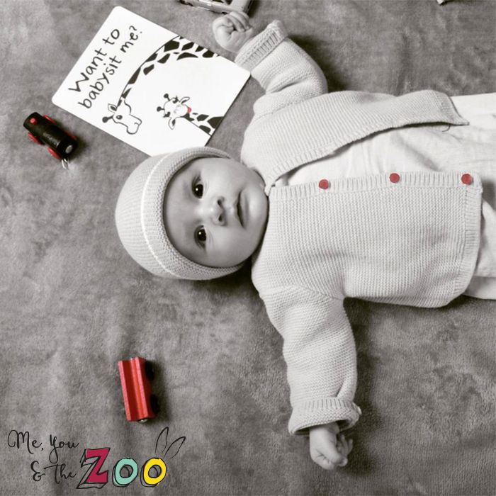 Who could resist this cute baby boy? We would definitely want to hang out with this cutie! 😍 #babysit #baby #boy #cute #sweetie #communication #card #blackandwithe #instagood #fun #meyouandthezoo #love #mom #newbaby #newborn #babyboy