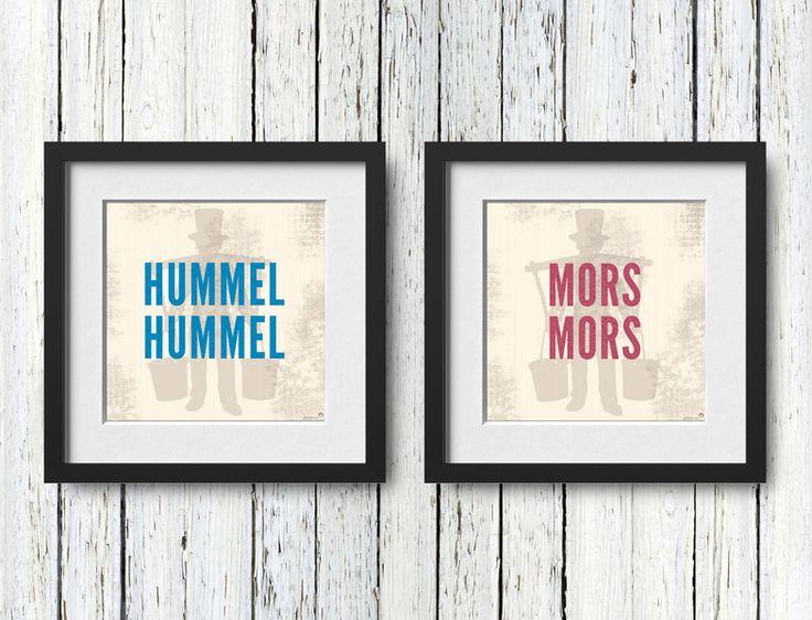 HUMMEL HUMMEL MORS MORS. / PLATTDEUTSCH  von antrekken auf DaWanda.com