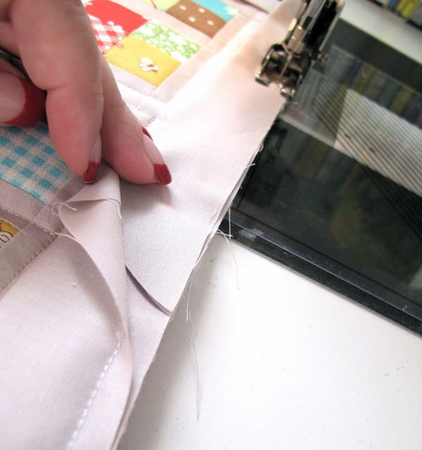 Fantastic! Easier Way To Finish Quilt Binding, Plus Very