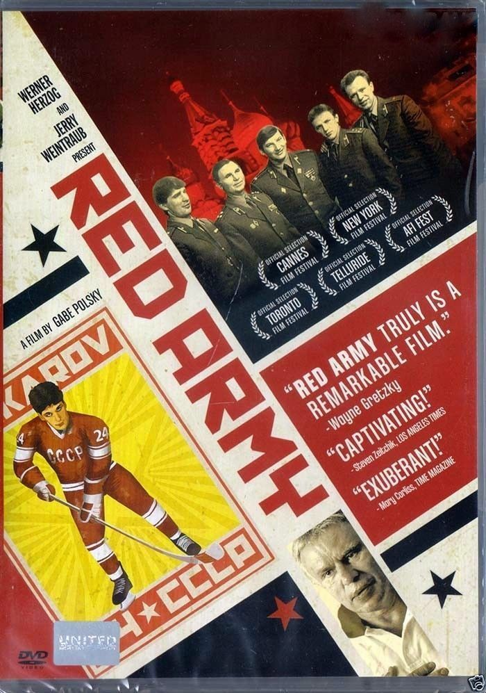 Red Army  DVD PAL Color  (2014) Scotty Bowman, Ice Hockey Documentary