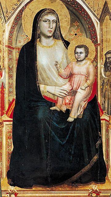 Masaccio - The Virgin and Child