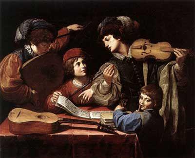 The concert (c. 1615), Leonello Spada