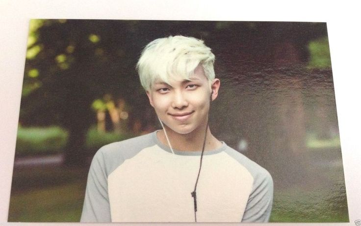 BTS Official MD ZipCode 17520 Rap Monster #2 Photo Card Bangtan Boys 2nd Muster