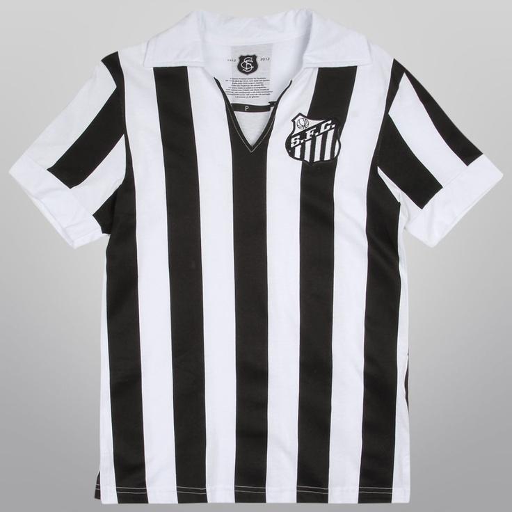 Camiseta Santos Retrô 1958 - Vila do Santos