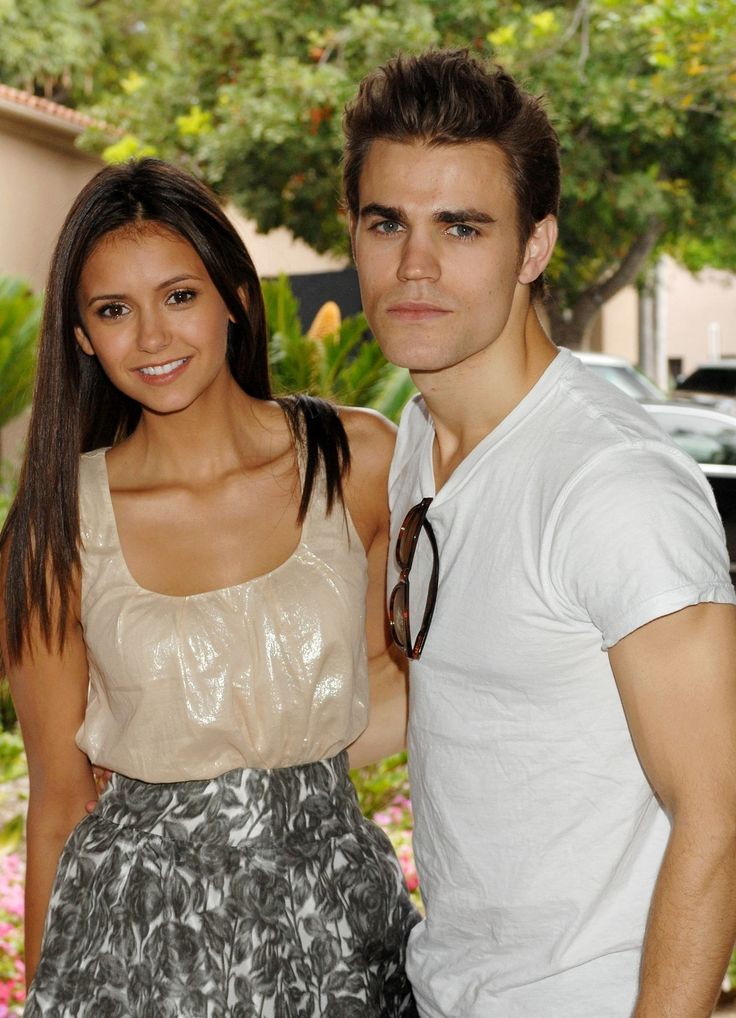 nina dobrev WITH PAUL PHOTOS | Paul and Nina - Paul Wesley and Nina Dobrev Photo (10009238) - Fanpop ...