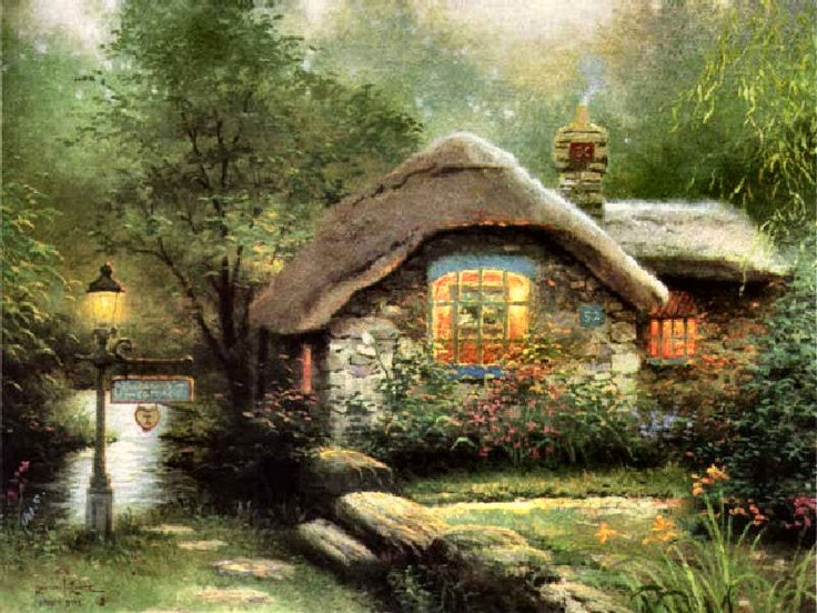Collectors Cottage by Thomas Kinkade