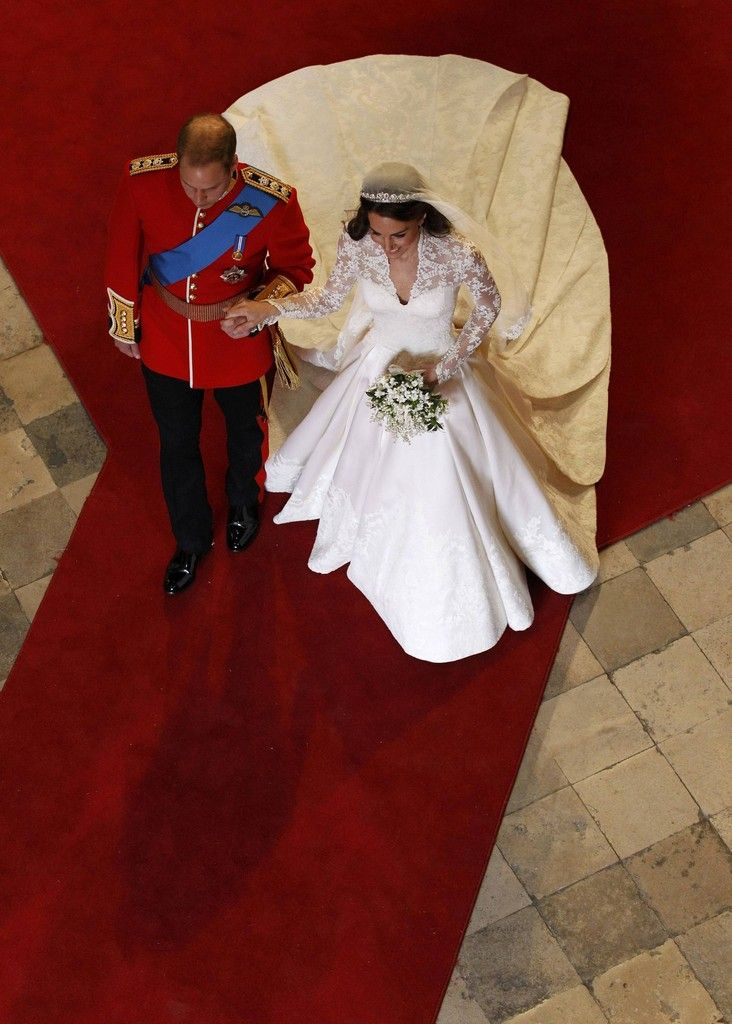 Kate Middleton Photos Photos: Royal Wedding – Carriage Procession To Buckingham Palace And Departures