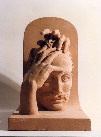 IL SOGNO DELL'ARCHIYETTO . Terracotta poligroma