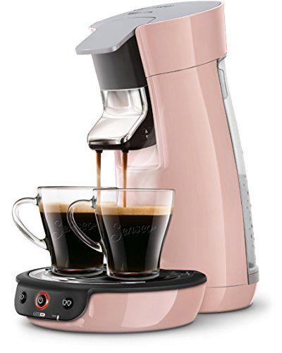Philips HD7829/31 Machine à dosettes SENSEO Viva Café Rose Poudré: 1 ou 2 tasses de café en moins d'une minute Technologie booster d'arômes…